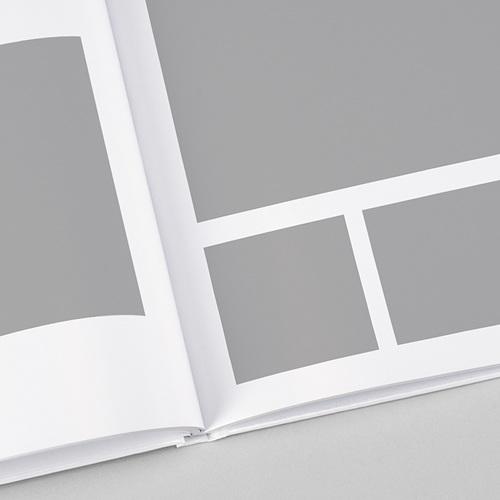 Fotobücher Quadratisch 30 x 30 cm Schlichtes Design