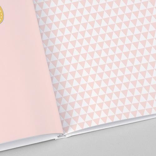 Fotobücher A4 Hochformat Farbkombination in Pastell