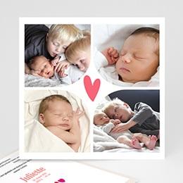 Karten Geburt Multi foto 2