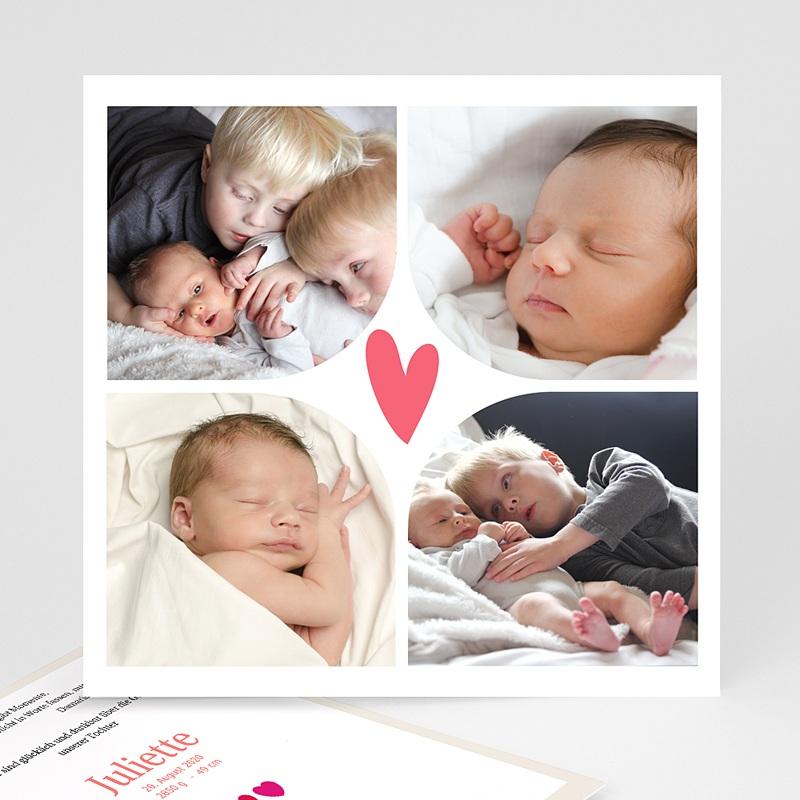 Geburtskarten für Mädchen Multi foto 2