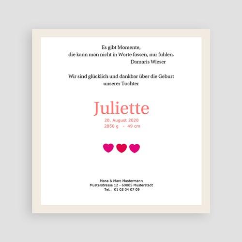 Geburtskarten für Mädchen - Multi foto 2 8225 preview