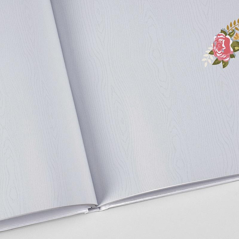 Panorama Fotobücher A4 Querformat Hochzeit Vintage