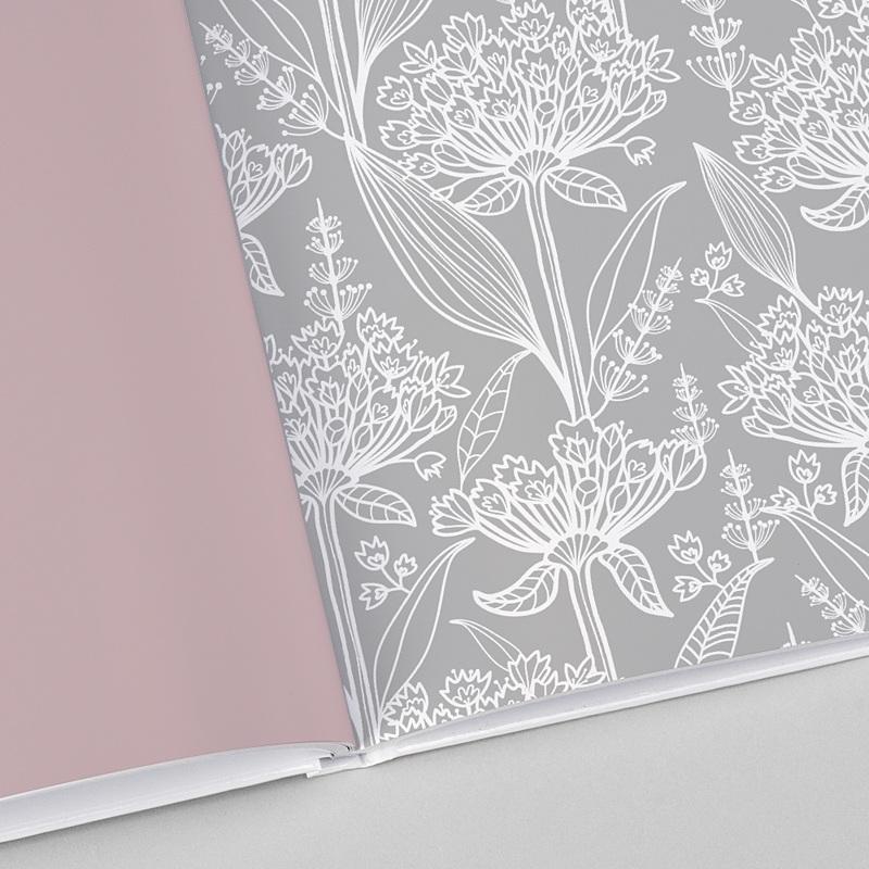 Fotobücher Quadratisch 20 x 20 cm Floral vintage