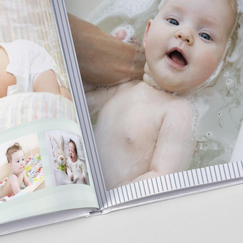 Panorama Fotobücher A4 Querformat Ich bin da!