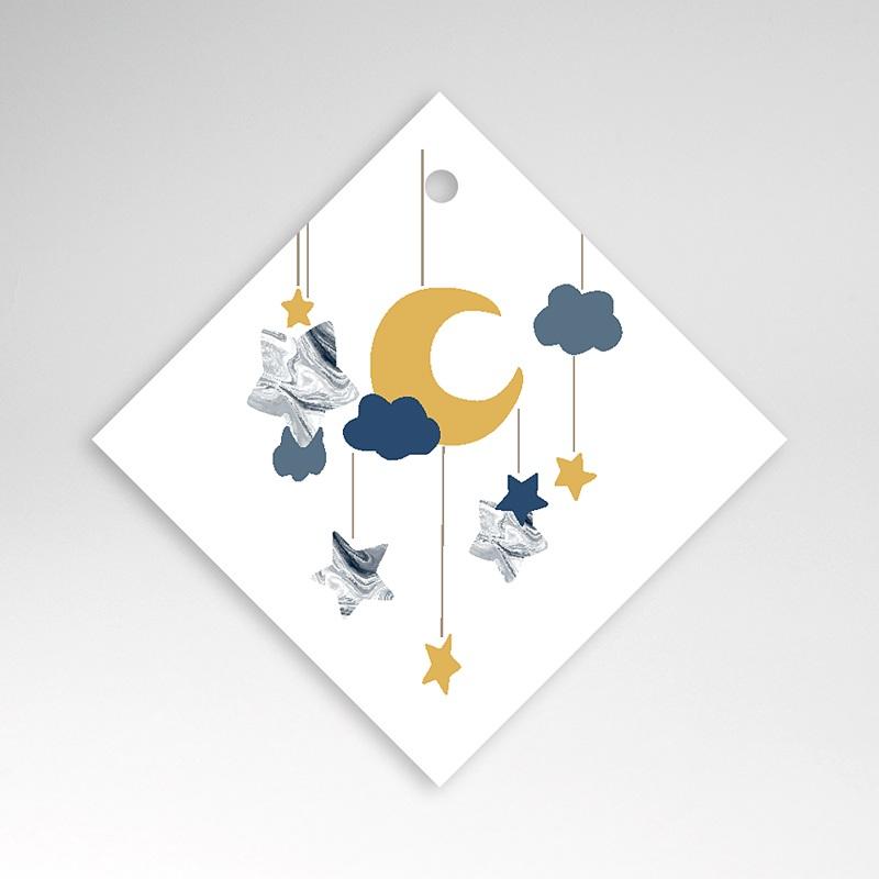 Geschenkanhänger Geburt Mond Mobilie