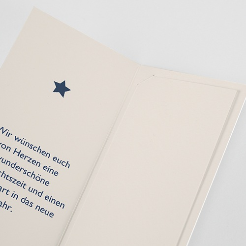 Weihnachtskarten Goldprägung, Lesezeichen, Klappkarte, Fotos pas cher