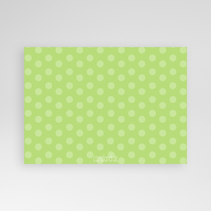 Einladungskarten Taufe Mädchen - Grün Pink 8275 thumb