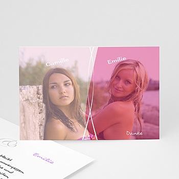 Dankeskarten Standesamt - Hochzeit Gabrielle & Hannah - 1