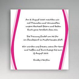 Einlegekarte Pacs Karte Gabrielle & Hannah