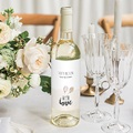 Wein Flaschenetiketten Hochzeit Vintage Just Married