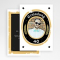 Erwachsener Einladungskarten Geburtstag Craft Beer, Foto, 12 x 16,7 gratuit
