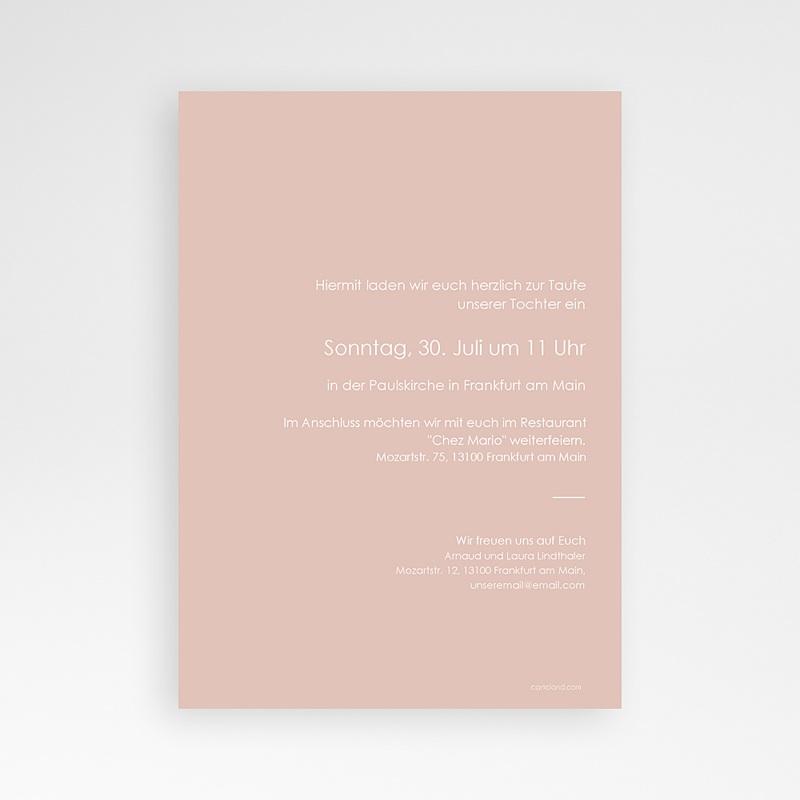 Einladungskarten Taufe  Abstrakte Luftballons pas cher