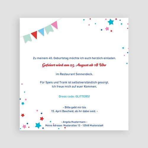 Erwachsener Einladungskarten Geburtstag Collage 18 Jahre, Relieflack, 14,5 x 15 pas cher