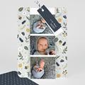Geburtskarten für Geschwister Herbstmärchen, Lesezeichen, Etiketten