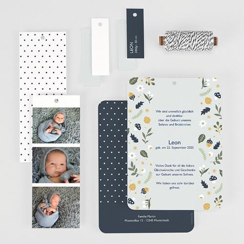 Geburtskarten Herbstmärchen, Lesezeichen, Etiketten gratuit