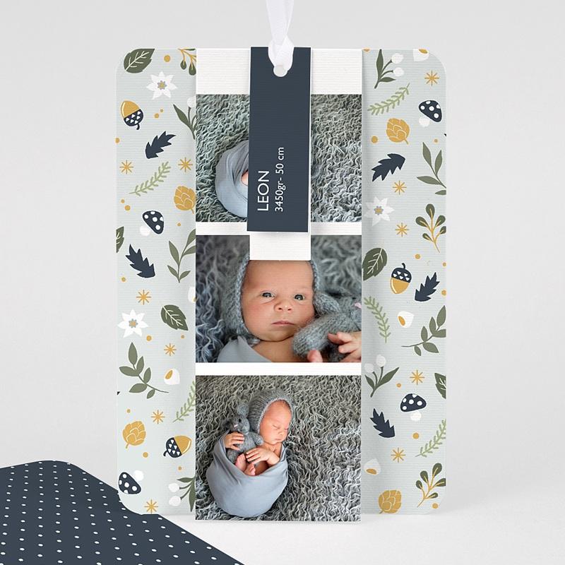 Geburtskarten Herbstmärchen, Lesezeichen, Etiketten