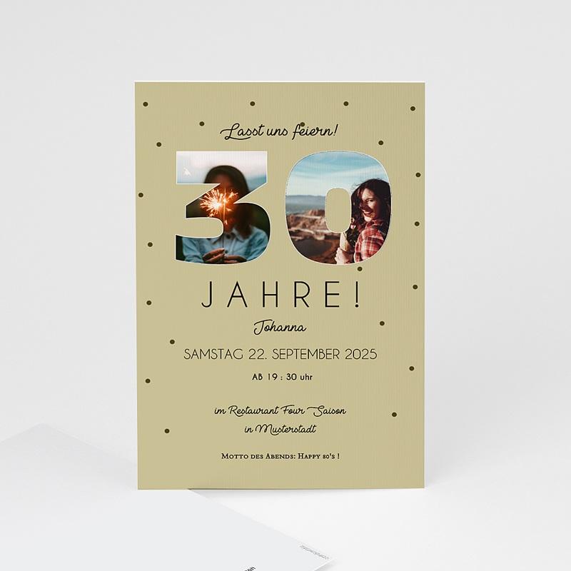 30 Jahre Alt Einladungskarten Geburtstag Zahlen 30, Fotos, 10 x 15 cm