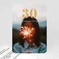 30 Jahre Alt Einladungskarten Geburtstag 30, Foto,12 x 16,7