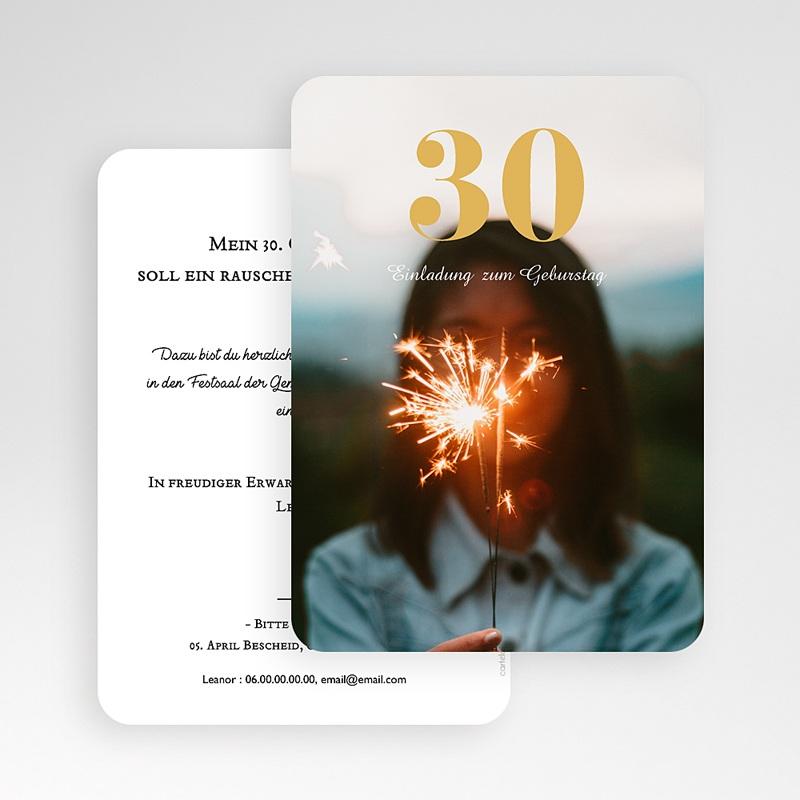 30 Jahre Alt Einladungskarten Geburtstag 30, Foto,12 x 16,7 gratuit