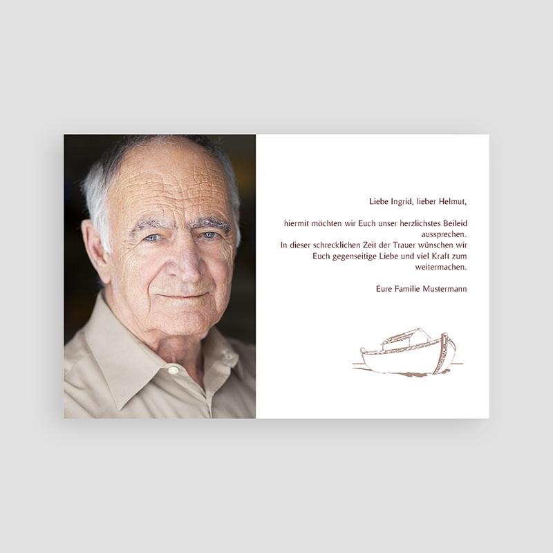Weltlich Dankeskarten Trauer Bilal pas cher