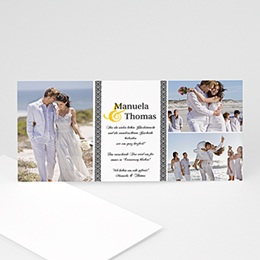 Danksagungskarten Hochzeitsflair