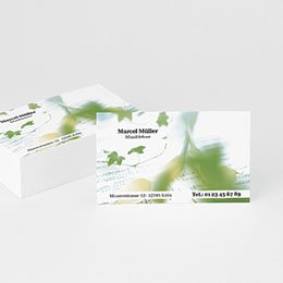 Visitenkarten Professionnel Musiker