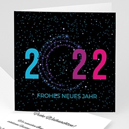 Voeux Pro Nouvel An Kerzen