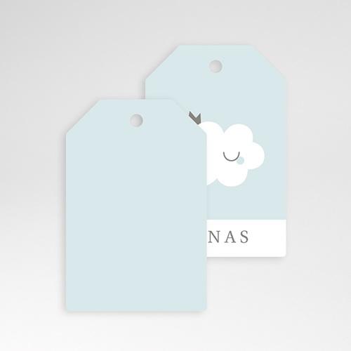 Geschenkanhänger Geburt Little Cloud Blue, 6 x 4 cm pas cher