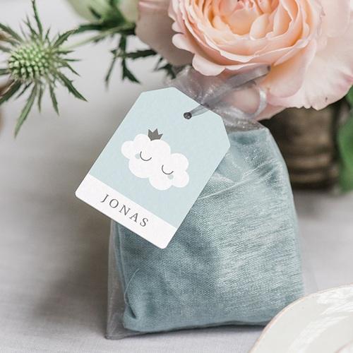Geschenkanhänger Geburt Little Cloud Blue, 6 x 4 cm gratuit