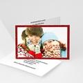 Weihnachtskarten - Weihnachtliches Rot 8452 test