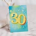 30 Jahre Alt Einladungskarten Geburtstag 30 Jahre, Relieflack, rechteckig