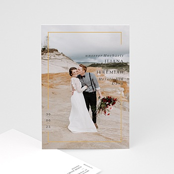 120 St/ück mit Umschl/ägen und Aufklebern 10,2 x 15,2 cm personalisierbar Blanko-Hochzeits-Dankeskarten