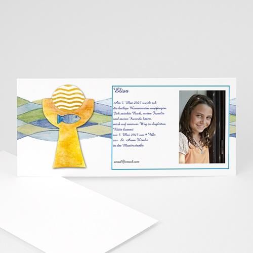 Einladungskarten Kommunion Mädchen - Lorenz 8480