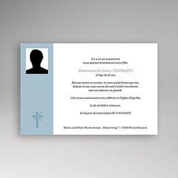 Karten Décès Chrétien In Memorium