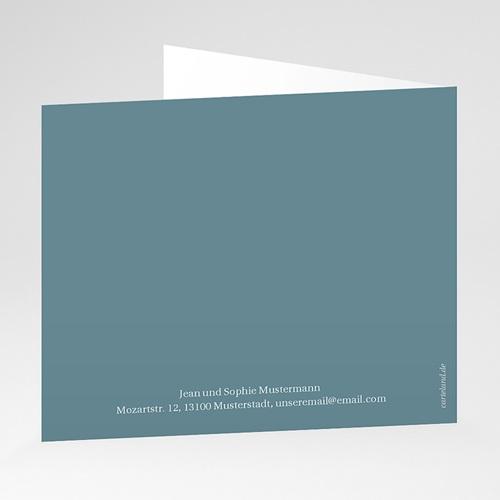 Einladungskarten Kommunion fur Jungen Blauer vögel, Weinstock, 12 x 10 gratuit