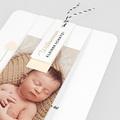 Geburtskarten für Jungen Knospe, 3 Etiketten, 1 Foto pas cher