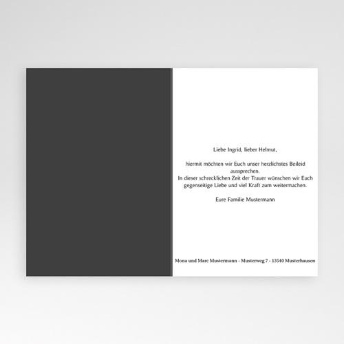 Trauer Danksagung weltlich - Zuversicht 8511 preview