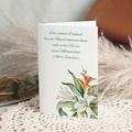 Kondolenzkarten Lilienstrauß, 10,5 cm x 15 cm
