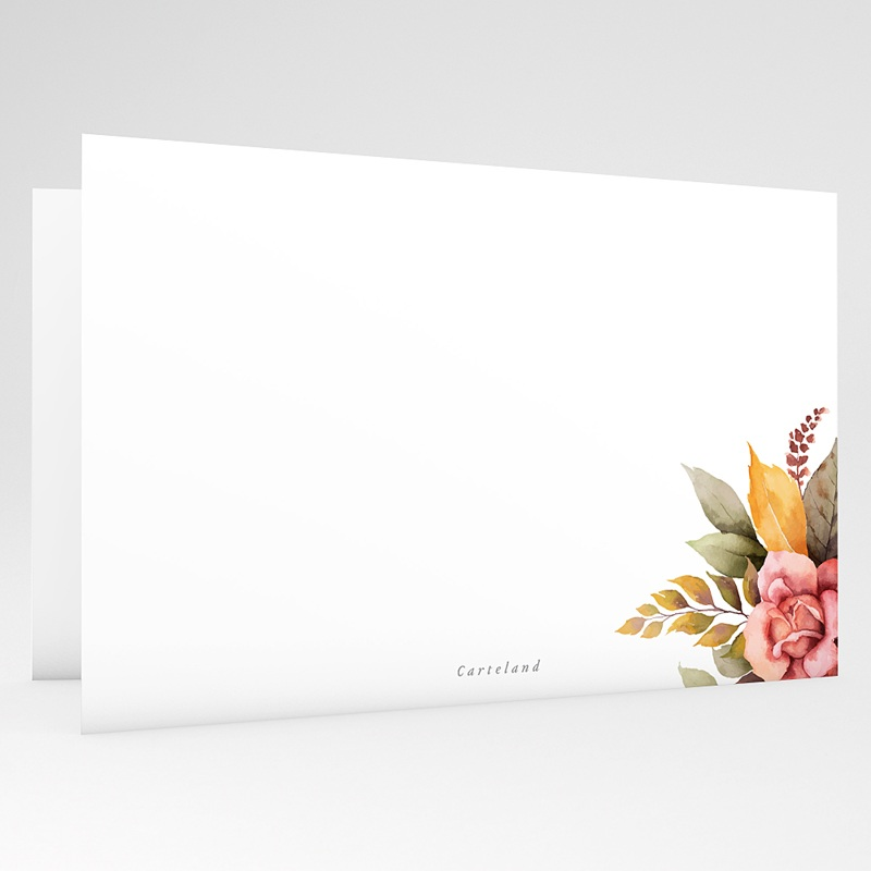 Kondolenzkarten Allerheiligenblumen, 15 cm x 10 cm gratuit
