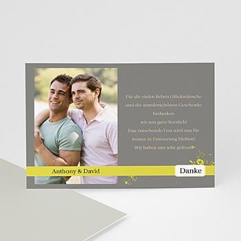 Dankeskarten Standesamt - Hochzeitskarte - 1