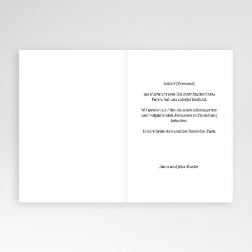 Kondolenzkarten Sanfte Gedanken, 10,5 cm x 15 cm pas cher