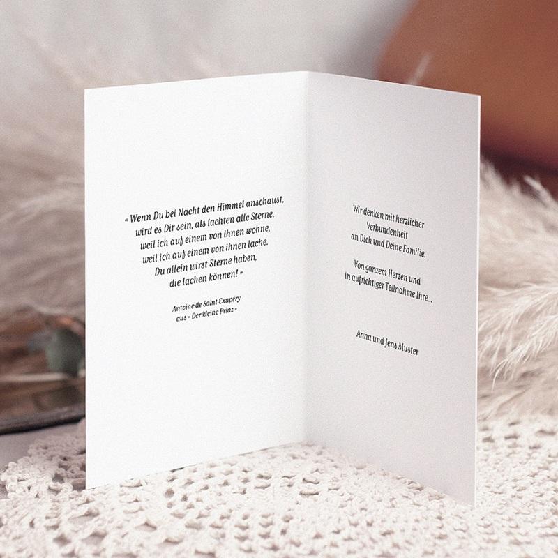 Kondolenzkarten Zen, gestapelte Kieselsteine, 10,5 x 15 pas cher