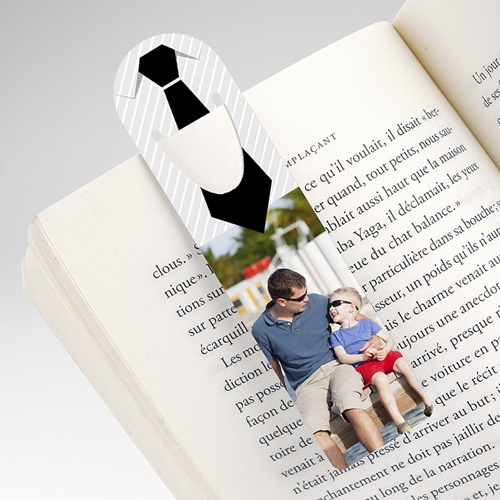 Personalisierte Lesezeichen Papa's Stil pas cher