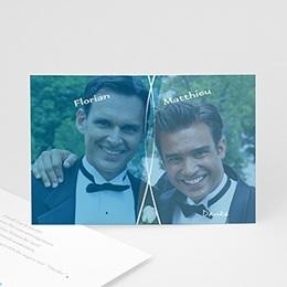 Dankeskarten Standesamt - Einladung Marc & Bernd - 1