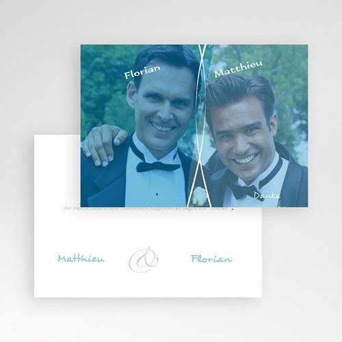 Dankeskarten Standesamt - Zweisam 8585 preview