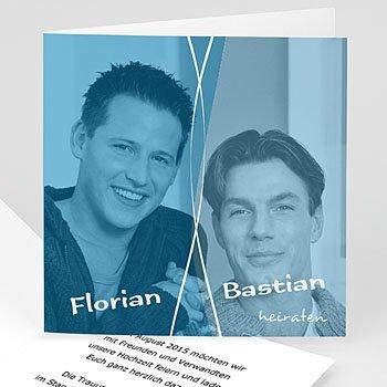 Er + Er - Einladung Marc & Bernd - 1