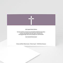 Trauer Danksagung christlich Kondolenz