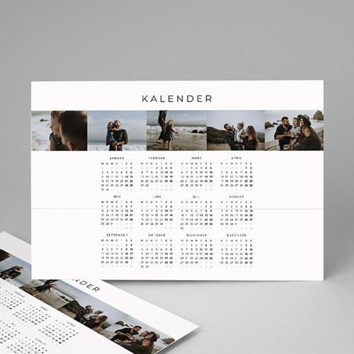 Kalender Jahresplaner Familienplaner schlicht