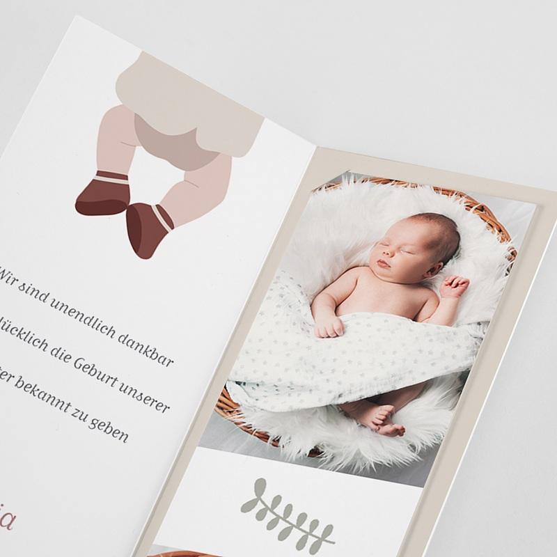 Geburtskarten Glücksbär, Granat pas cher