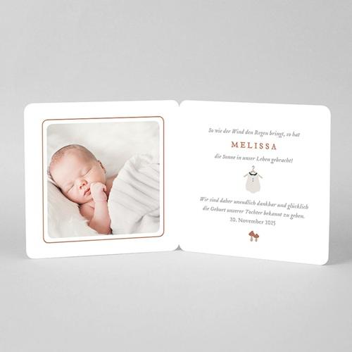 Geburtskarten Kuschelpause, Mädchen, Kaninchen pas cher